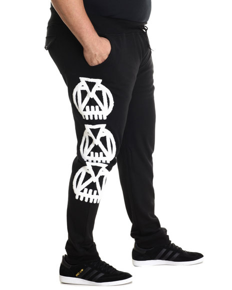 Eight 732 Men Madness Sweatpant Black 5X