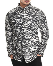 Buyers Picks - Zebra L/S Button-down