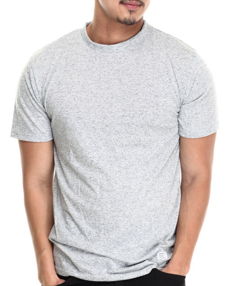 Akomplice - Men Light Grey Heathered Blank Tee