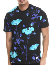 Men - Bright Poppy All Over Tee