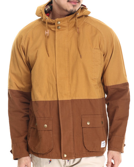 Akomplice - Men Brown Crisp Jacket - $107.99
