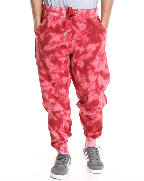 Buyers Picks - Men Red Agents Acid Jogger Pants