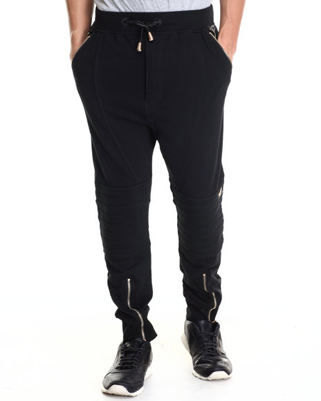 Ur-ID 212842 Winchester - Men Black Winchester Heavy Pieced Jogger Pants