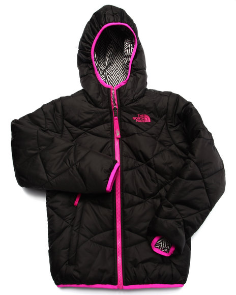 The North Face - Girls Black Reversible Perrito Jacket