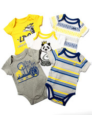 LRG - 5 PACK BODYSUITS (NEWBORN)