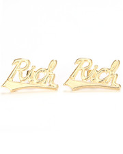 Accessories - Melody Ehsani x Joyrich RICH STUD EARRINGS