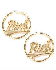 Accessories - Melody Ehsani x Joyrich RICH HOOP EARRINGS
