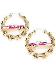 Accessories - Melody Ehsani x Joyrich BAMBOO CAR EARRINGS