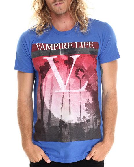 Ur-ID 212859 Vampire Life - Men Blue Vl T-Shirt