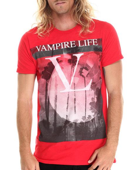 Vampire Life Red Shorts