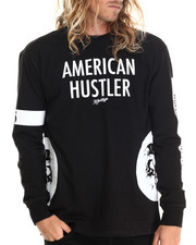 Heritage America - American Hustler L/S Tee