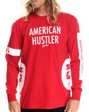 Men - American Hustler L/S Tee