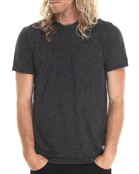 Akomplice - Men Grey Heathered Blank Tee - $14.99