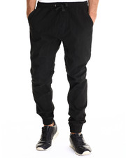 Basic Essentials - Twill Jogger Pant w/drawstring waistband
