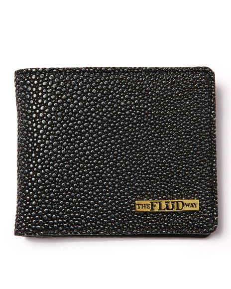 Flud Watches Men Stingray Embosed Edition Classic Wallet Animal Print