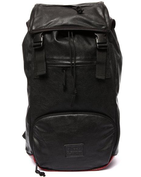 Flud Watches Men Major Tech Sneaker Storage Backpack (Pebble/Croc Animal Print