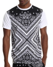 Buyers Picks - Bandana Fashion treated s/s tee (e-longated detail)