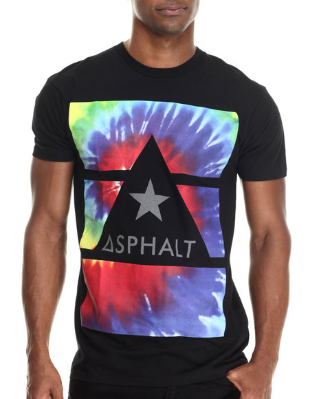 Asphalt Yacht Club - Men Multi Tripped Out Delta Force Tee - $25.00