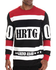 Men - Grind Hard Hockey Jersey L/S Tee
