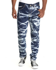 Jeans & Pants - Marble Wash Denim Jeans