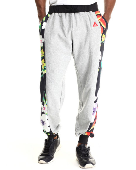 Ur-ID 212903 Asphalt Yacht Club - Men Grey Tropical Storm Jogger Pants