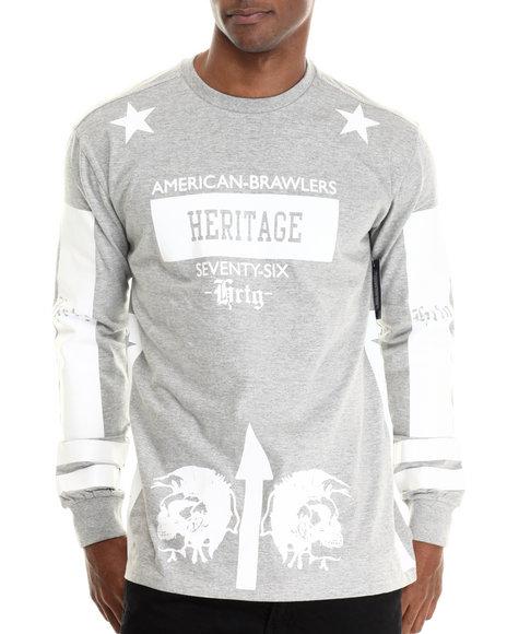 Heritage America Grey T-Shirts