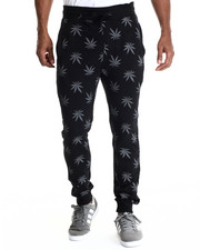 Buyers Picks - Plant life Allover print drawstring jogger sweatpants