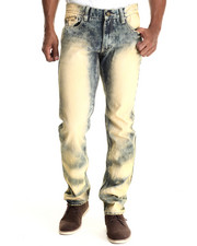 Heritage America - Indigo Bleach Out Denim Jeans