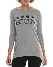 Women - Fish Tail Icon Graphic Tee