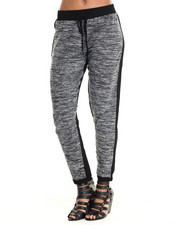 Women - Heather Black Jogger