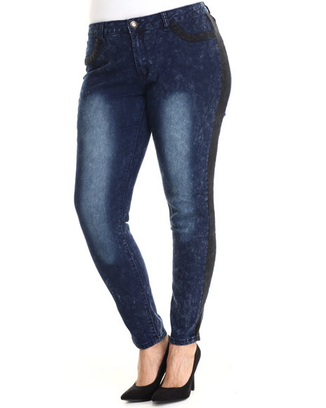Baby Phat - Women Dark Wash Dark Wash Skinny Jean (Plus)