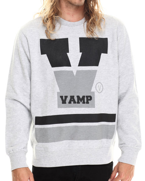 Vampire Life - Men Grey Vamp Sweatshirt