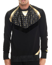 Men - Chevron L/S Sweatshirt