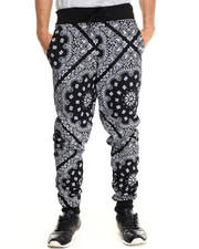 Jeans & Pants - Ewing Allover Bandana Print Jogger sweatpants