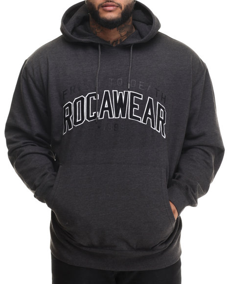 Rocawear - Men Grey Fresh 99 Pullover Hoodie (B&T)