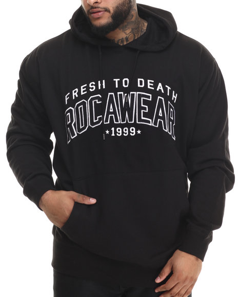 Rocawear - Men Black Fresh 99 Pullover Hoodie (B&T)