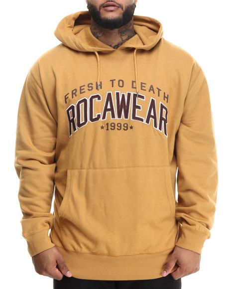 Rocawear - Men Brown Fresh 99 Pullover Hoodie (B&T)