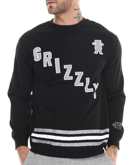Grizzly Griptape Black T-Shirts