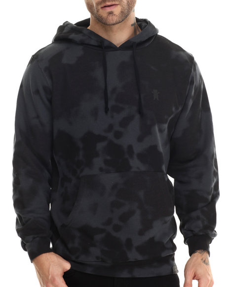 Grizzly Griptape - Men Black Glacier Gram Hoodie