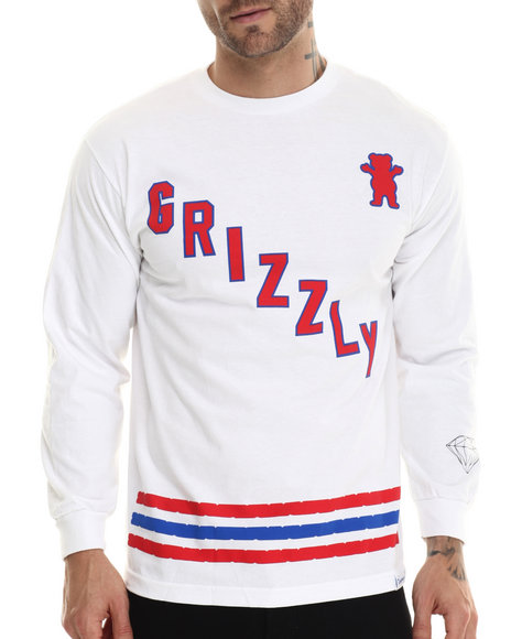 Grizzly Griptape White T-Shirts