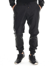 Buyers Picks - Faux - Leather Slim - Fit Joggers