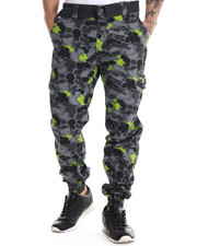 Pants - Flash - Spot Camo Cargo Joggers