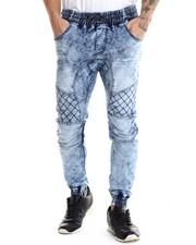 Buyers Picks - Acid Denim Jogger Pants