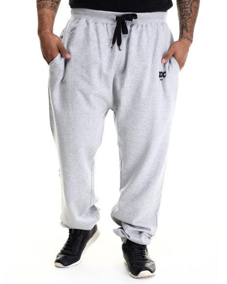 Rocawear - Men Grey Bold Roc Jogger Fleece Pants (B&T)