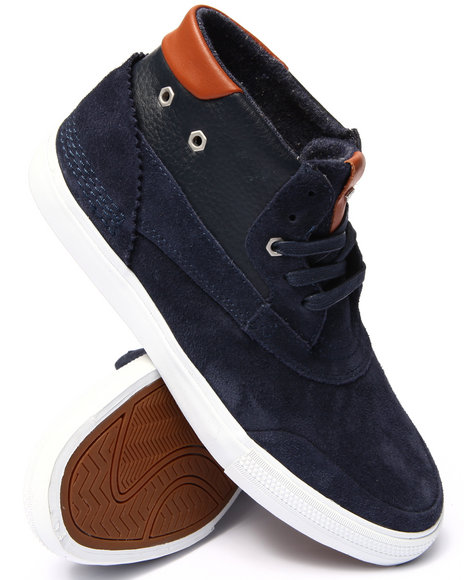 Diamond Supply Co - Men Navy Emerald Eclipse Sneakers