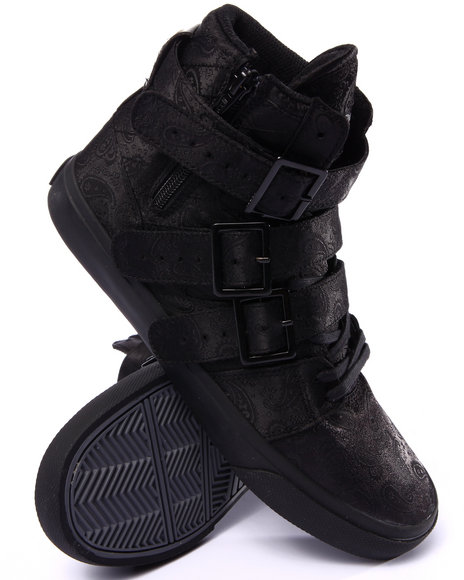 Radii Footwear - Men Black Straight Jacket Vulc Triple Black