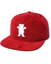 Men - Corduroy OG Bear Snapback Cap