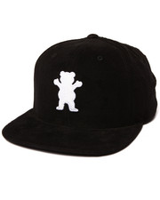 Hats - Corduroy OG Bear Snapback Cap
