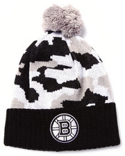 American Needle - Boston Bruins Troop City Camo Cuff knit hat
