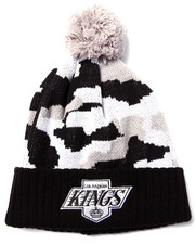 American Needle - Los Angeles Kings Troop City Camo Cuff knit hat